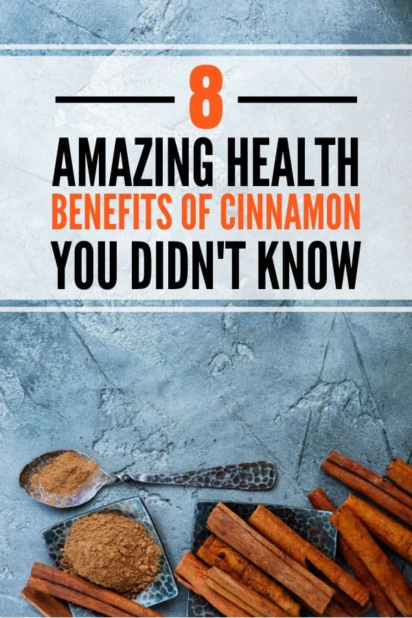 Benefits of cinnamon for weight loss, blood sugar control, health and more. Includes instructions on how to use and recipes.
