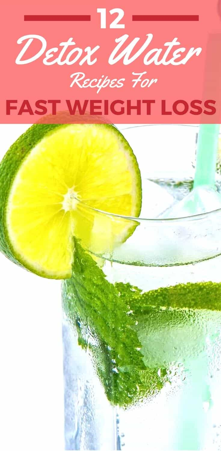 12 Detox Water Recipes For Weight Loss