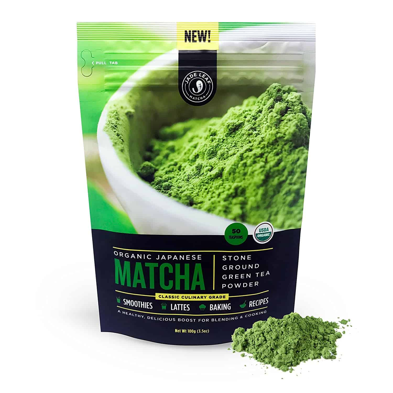 Matcha Green Tea Powder from Japan