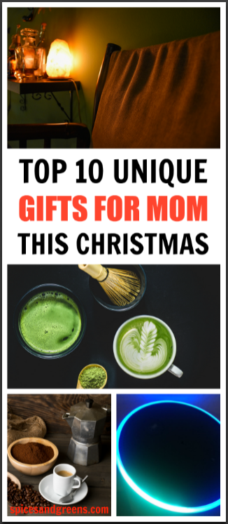 Unique gifts for mom this Christmas that are creative and practical.  This gift list is great for your best friends that are mothers or for women in general. #giftguide #giftsforher #christmasgifts #momgift #momgiftideas #bestgifts