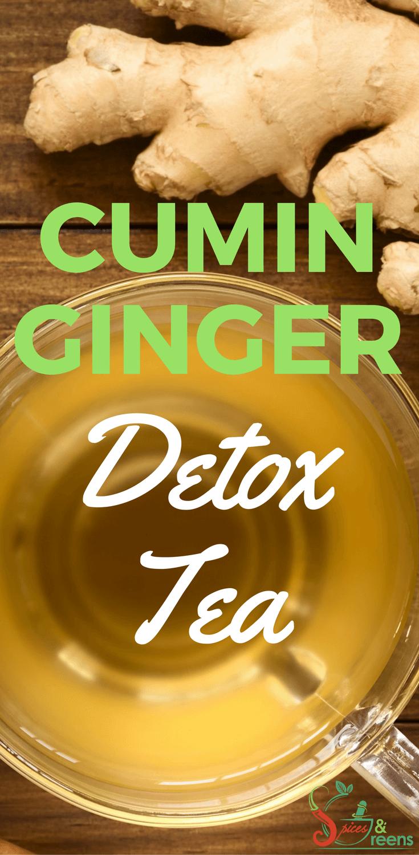 cumin ginger detox tea|cumin for weight loss|ginger tea recipe for weight loss|cumin tea recipe for weightloss