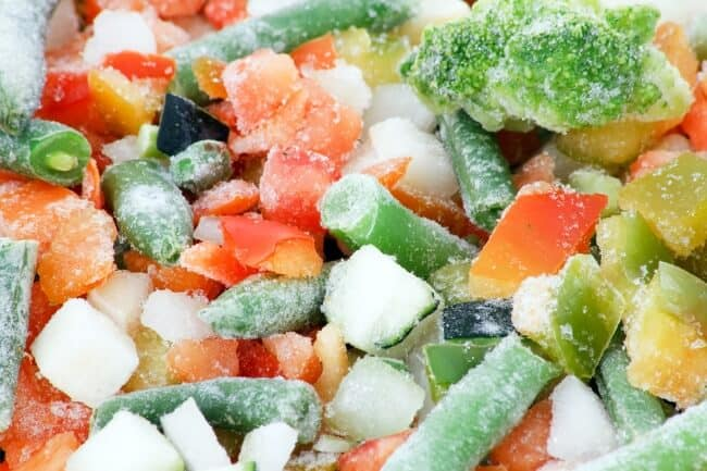 Clean eating on a budget - buy frozen