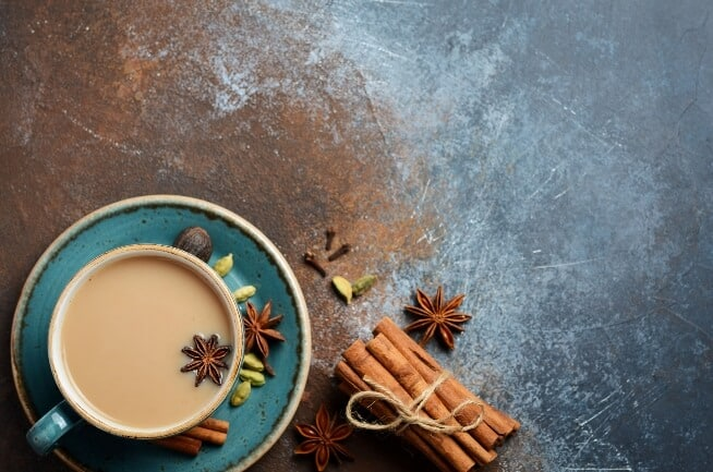 Teas for weight loss - chai