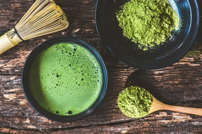 Tea for weight loss - matcha