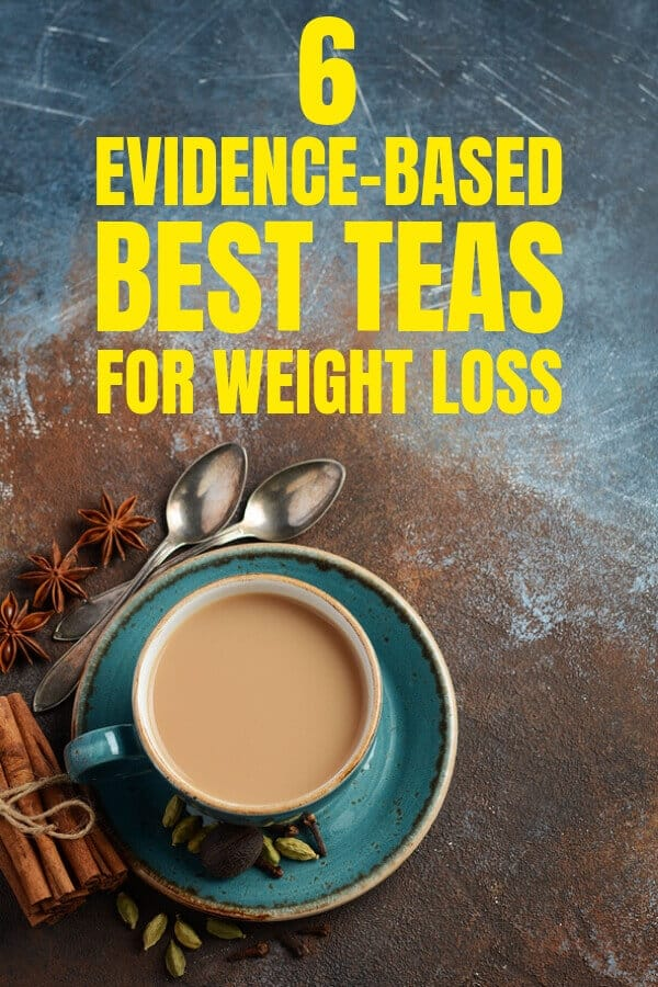 These are the best healthy teas for weightloss, detox and fat burning that are backed by science. Includes health benefits of tea products such as green tea, herbal tea. Drink these natural teas as fat burner, and for optimal health, complement them with clean eating diet plans and exercise. #weightloss, #detoxdrinks, #fatloss, #loseweightfastandeasy