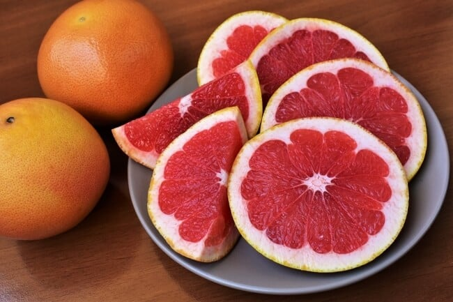 clean eating snacks - grapefruit