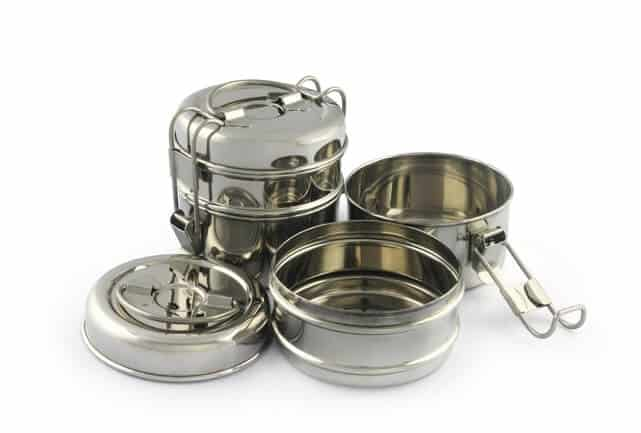 Safe food storage containers - stainless steel