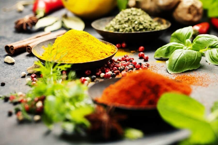 belly fat burning foods - spices