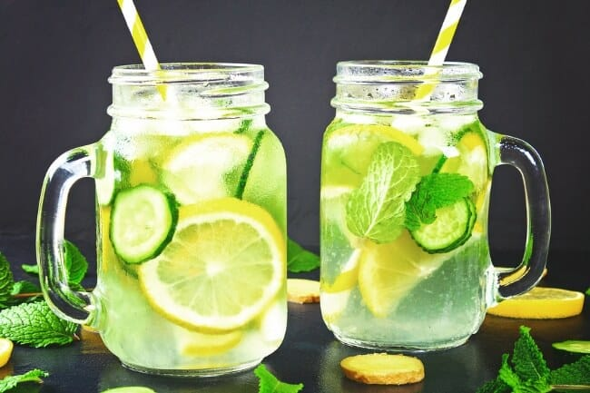 Lose Weight By Drinking Water - Detox Water