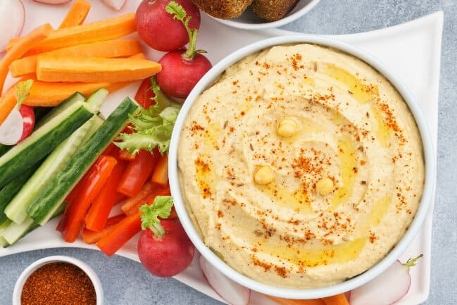Spiced hummus
