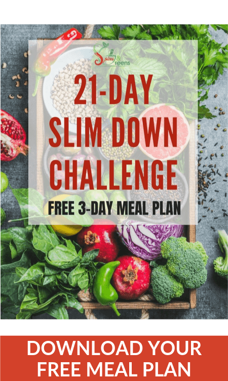 SpicesAndGreens Free Meal Plan