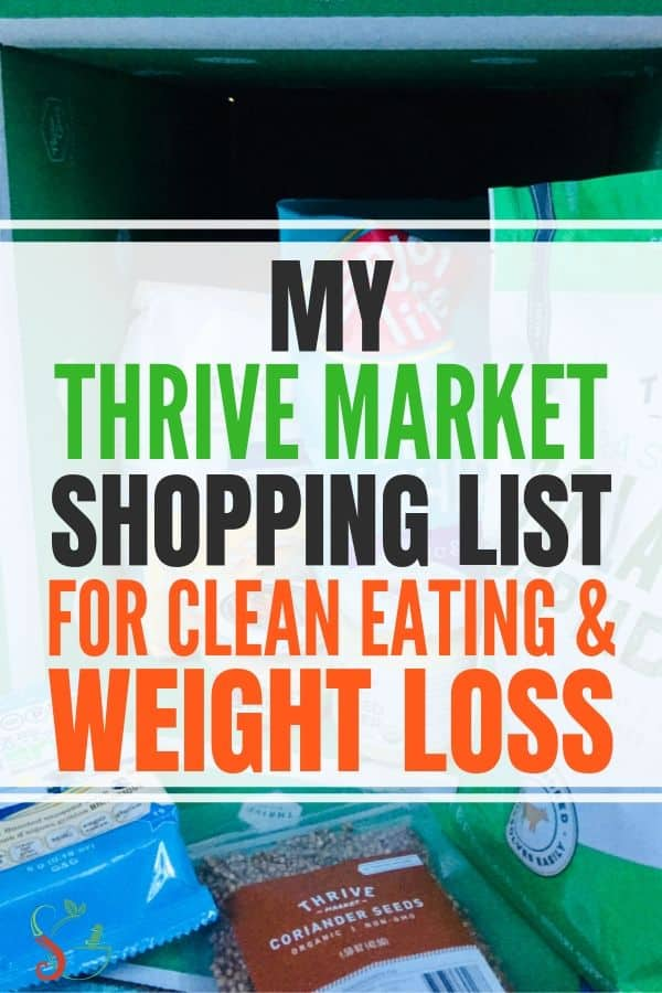 Thrive Market review including products that are must haves for your shopping list, whether for snacks or for beauty. Fits your meal plan whether you are cooking keto, vegan, whole30 or paleo recipes. Every box even comes with a free gift of your choosing! #cleaneating #weightloss #thrivemarket #shoppinglist #healthyliving #couponcode #affiliate
