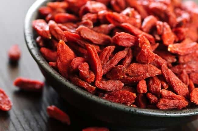 best dried fruit for weight loss - goji berries