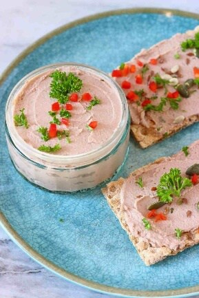 Make ahead thanksgiving appetizer - mushroom pate