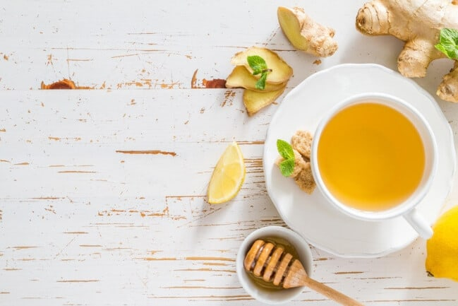 How to make ginger tea for weight loss - recipe