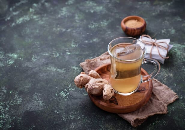 How to make ginger tea for weight loss - tea bag