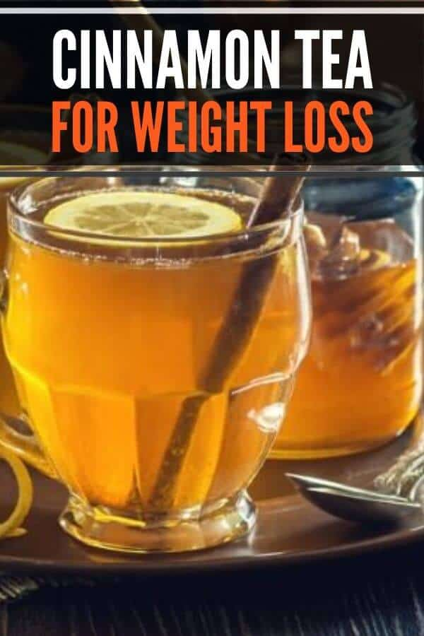 How to make homemade cinnamon tea for weight loss. Includes benefits, recipe with honey, Celyon vs Cassia cinnamon. #cinnamon #tea #cinnamontea