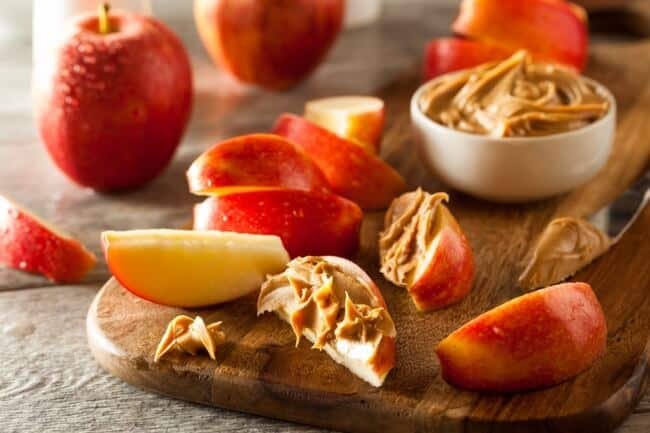 Healthy pantry - nut butter snack