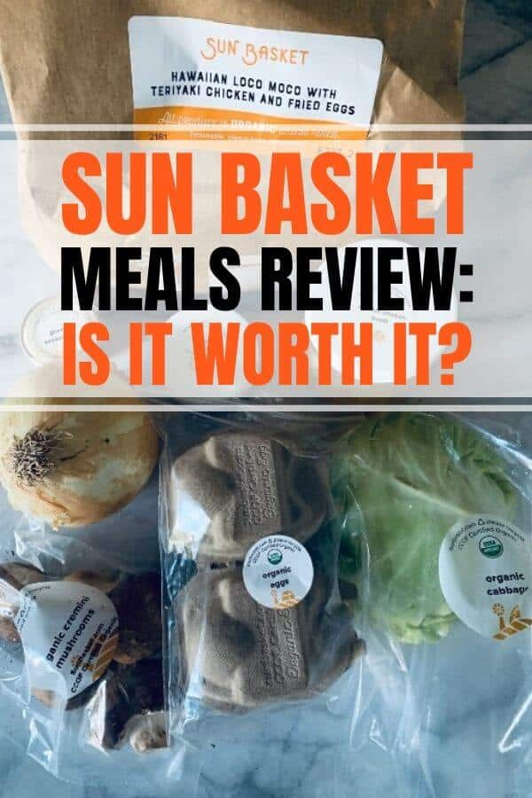 sun basket review including meals recipes lean and clean, paleo, vegetarian, low carb, vegan, chicken, pork, turkey chili, morning breakfast and gift options.