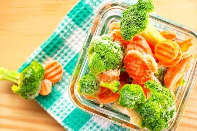 I hate to cook diet plan - buy frozen