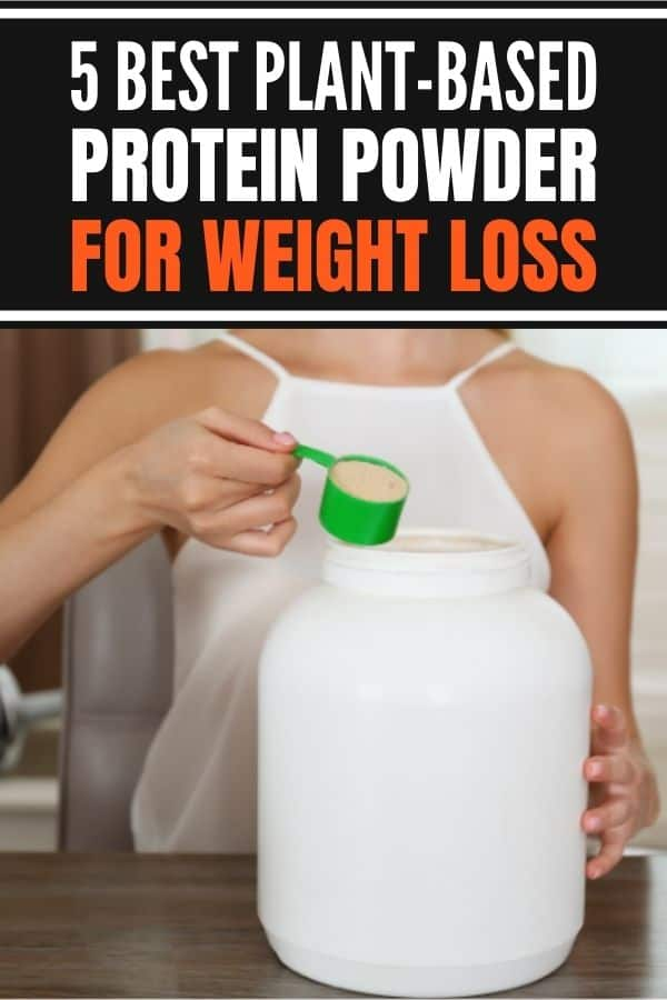 Best plant based protein powder for women for weight loss