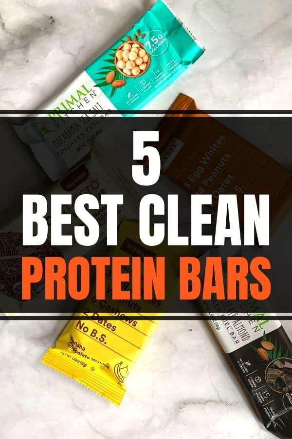 Best clean protein bars products for healthy clean eating.