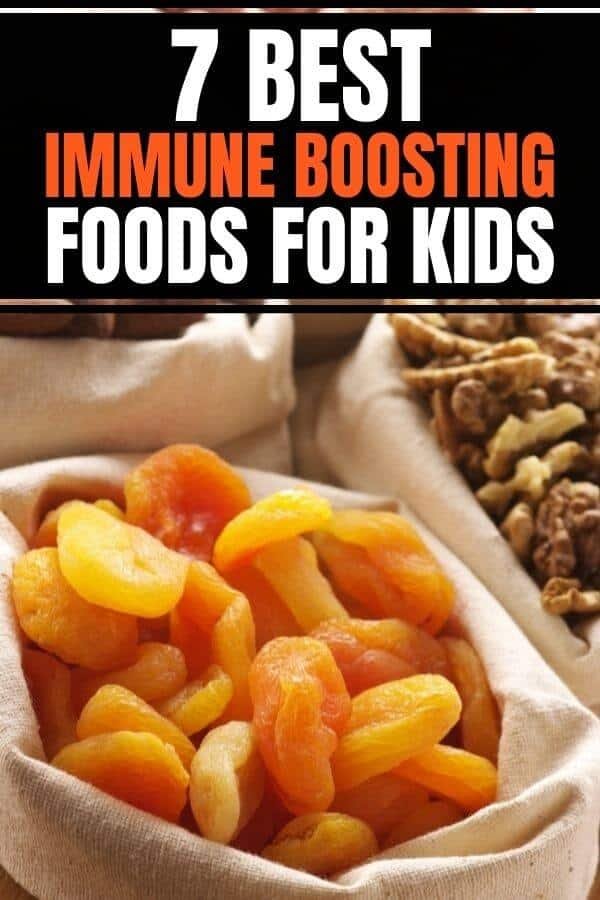 Best immunity boosting foods for kids that reduce inflammation. Includes healthy recipes that are vegan-friendly. #immuneboostingfoods #nutritionforkids