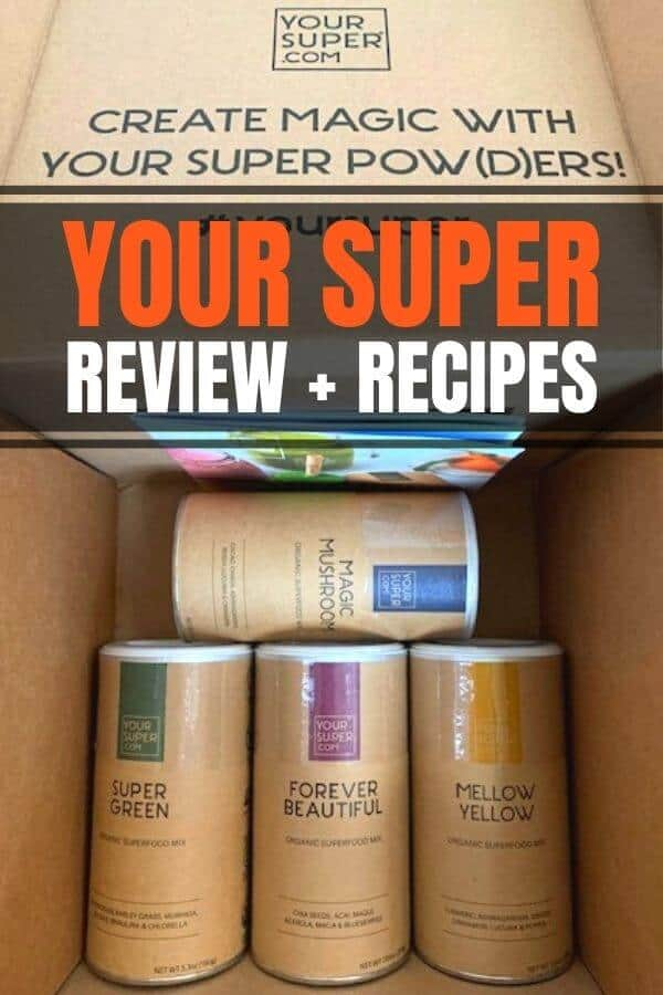 Your Super review + superfood recipes. Includes powder recipes, smoothie recipes, mellow yellow recipes, skinny protein recipes, magic rushoom recipes and more.