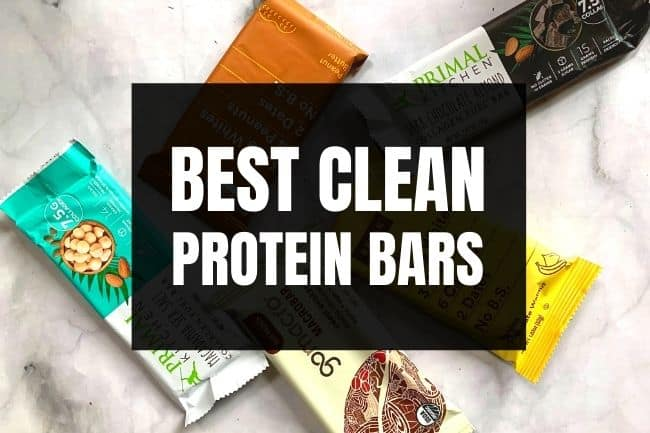 clean protein bars x433
