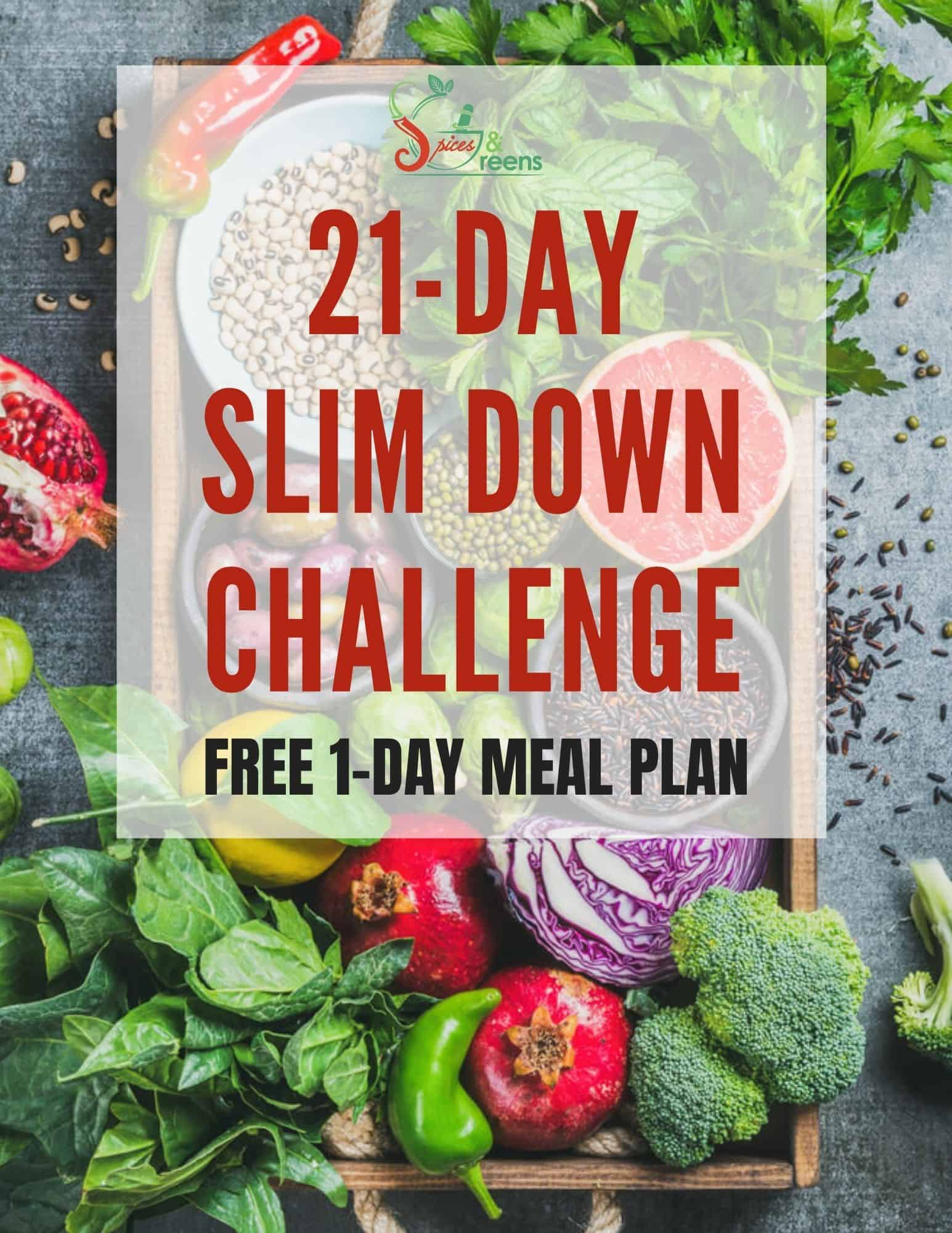 S&G Challenge 1-Day Free Meal Plan Cover