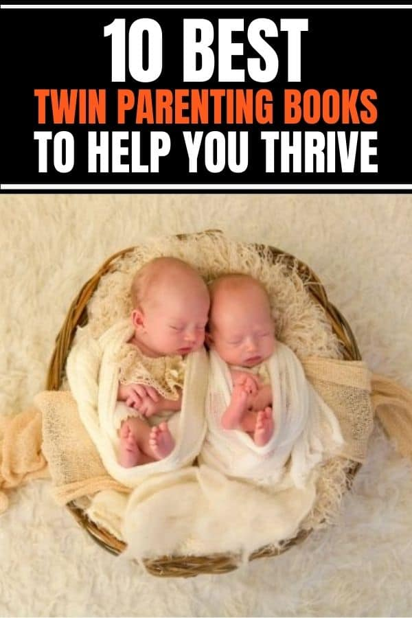 Best 10 twin parenting books that provide tips, hacks, humor and funny moments in raising twins.
