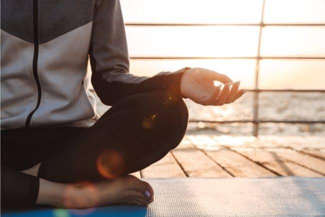 Self-care for moms - meditation