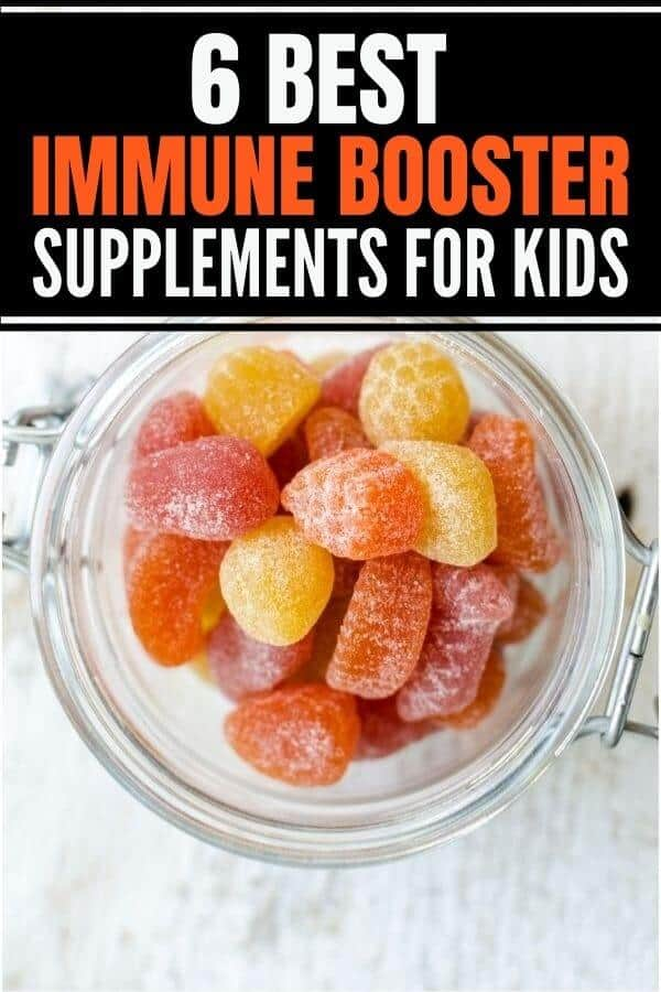 Best immune boosters for kids that boost immune system naturally. Includes immune boosting foods for kids and 6 best immune booster vitamins and supplements for kids to strengthen immune system.