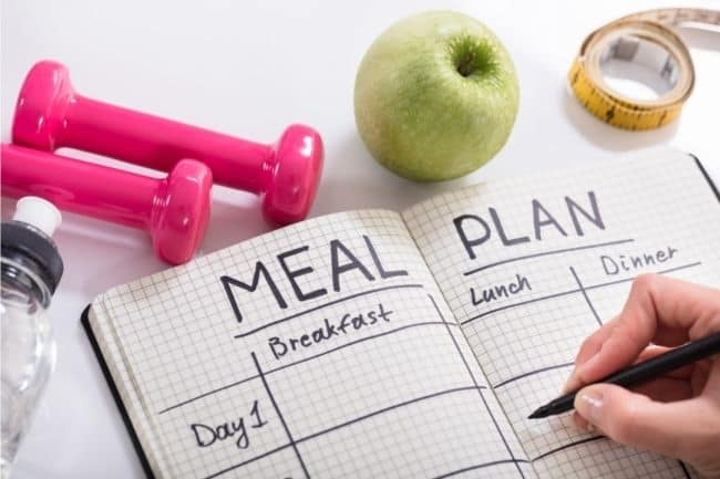 Meal plan and meal prep to stop weight cycling x433