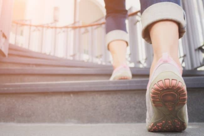 Overcoming yo-yo dieting with walking exercise